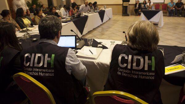 CIDH visita Honduras - Sputnik Mundo