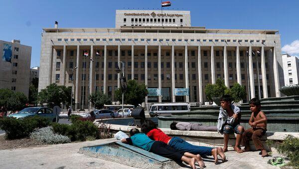 Niños en Damasco - Sputnik Mundo