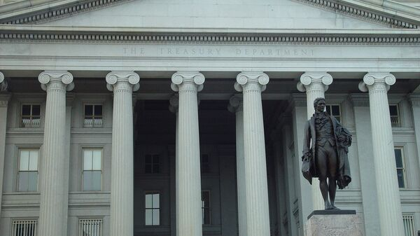 Departamento del Tesoro de EEUU (imagen referencial) - Sputnik Mundo