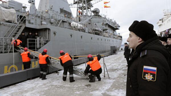 La vida cotidiana de la Flota del Norte - Sputnik Mundo
