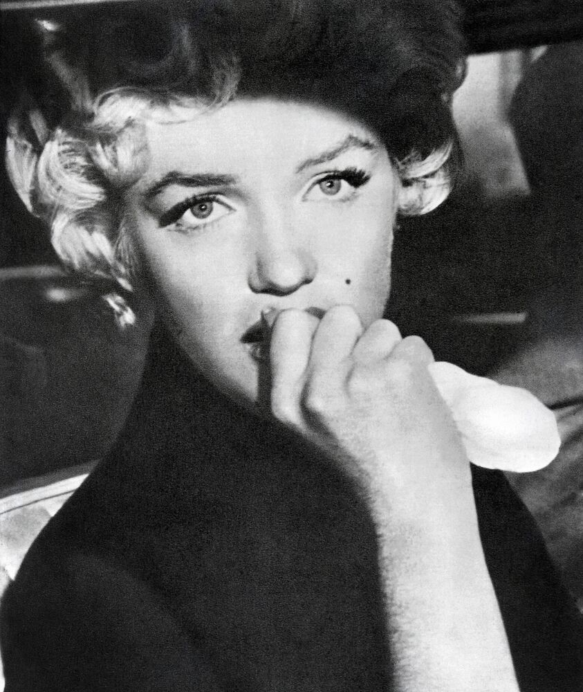 A portrait taken on December 3, 1961 shows American actress Marilyn Monroe