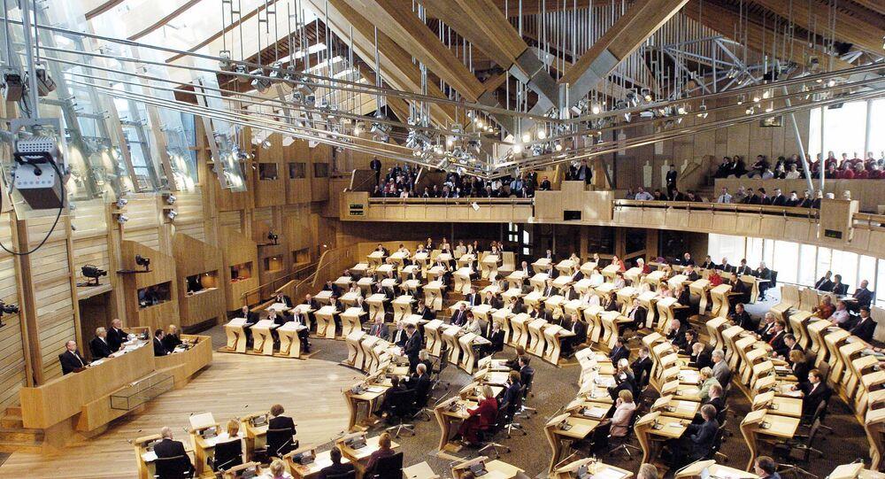Parlamento Escocés (archivo)