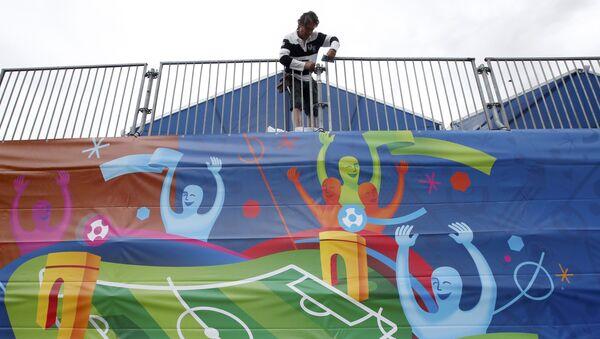 Los preparativos para la Eurocopa en Francia - Sputnik Mundo