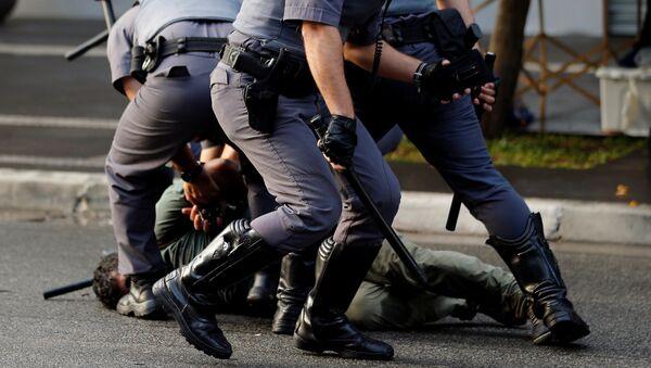 Al menos seis detenidos en las protestas del MTST en Sao Paulo - Sputnik Mundo