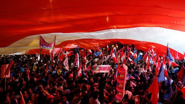 Elecciones presidenciales en Perú - Sputnik Mundo