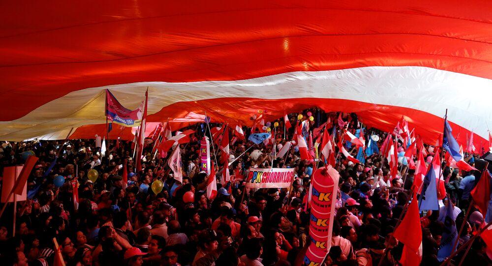 Los partidarios del Peruanos por el Kambio (archivo)