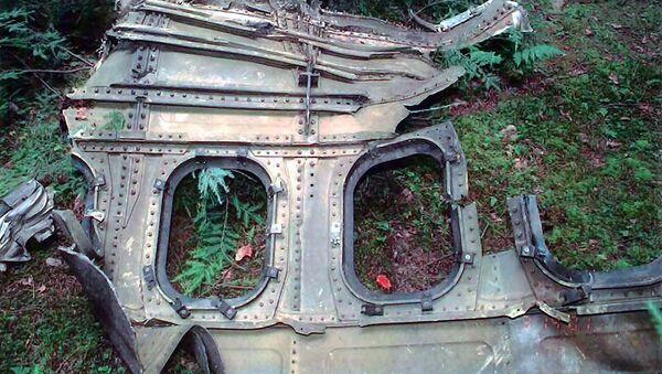Los restos del Boeing 757 secuestrado por los terroristas el 11 de septiembre de 2001 - Sputnik Mundo