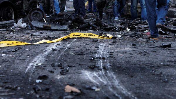 Atentado suicida en Siria (archvio) - Sputnik Mundo