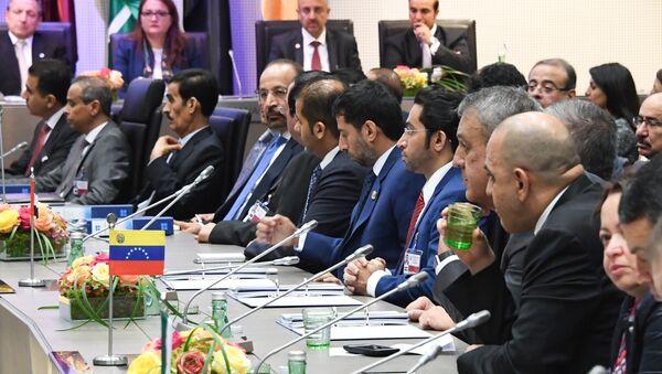 Ministros de petróleo de los países miembros de la OPEP (archivo) - Sputnik Mundo