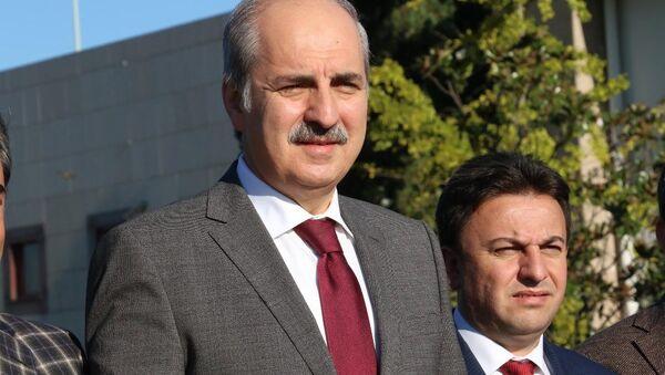 Başbakan Yardımcısı Numan Kurtulmuş - Sputnik Mundo