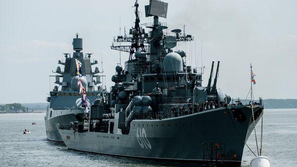 Buque destructor ruso (archivo) - Sputnik Mundo