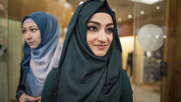 Mujeres en hiyab - Sputnik Mundo