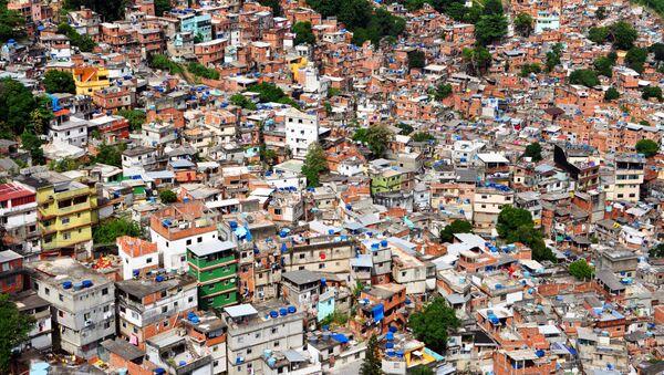 La favela de Ciudad de Dios - Sputnik Mundo