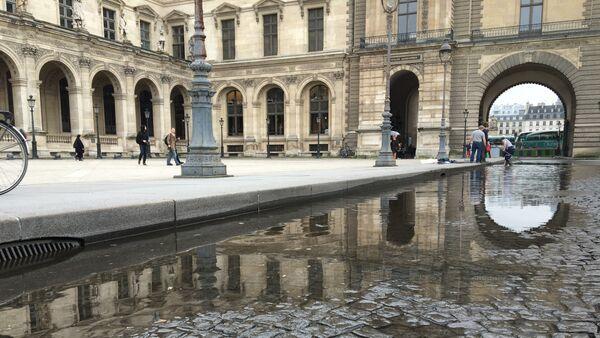 La inundación en el Louvre - Sputnik Mundo
