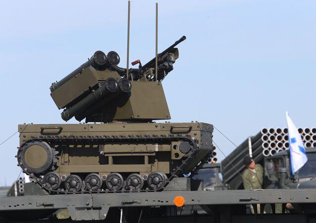 El robot de combate 'Plataforma – M'
