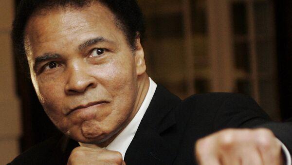 La leyenda del boxeo mundial, Muhammad Ali - Sputnik Mundo