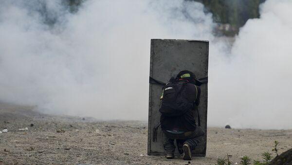 Protestas de los campesinos en Colombia - Sputnik Mundo