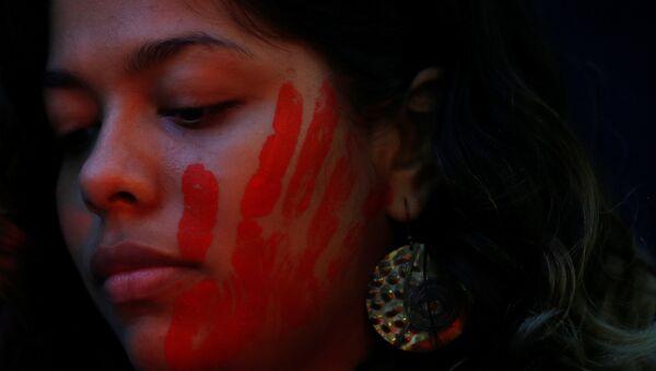 Marcha en contra de la violencia machista - Sputnik Mundo