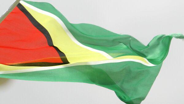 Bandera de Guyana - Sputnik Mundo