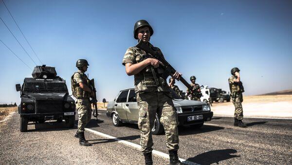 Soldados turcos - Sputnik Mundo