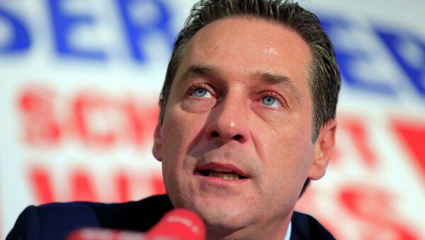 Exlíder de FPÖ y ex vicecanciller federal, Heinz-Christian Strache - Sputnik Mundo