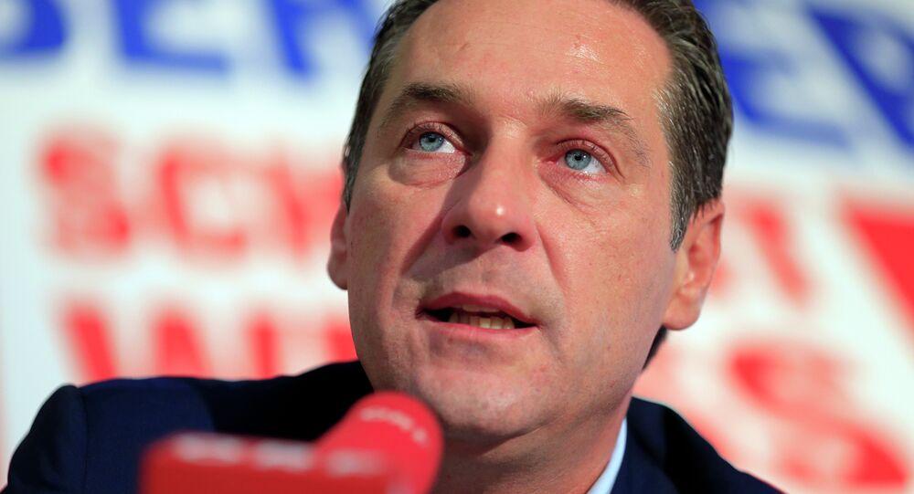 Exlíder de FPÖ y ex vicecanciller federal, Heinz-Christian Strache