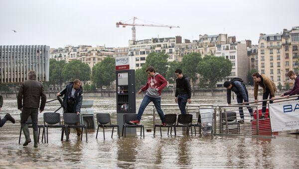Inundaciones en Francia - Sputnik Mundo