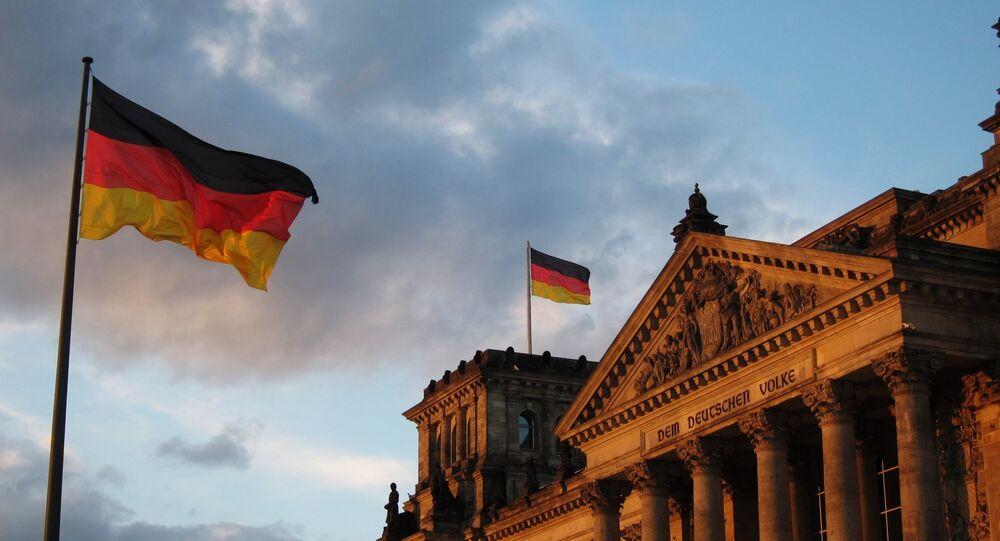 Bandera de Alemania (archivo)
