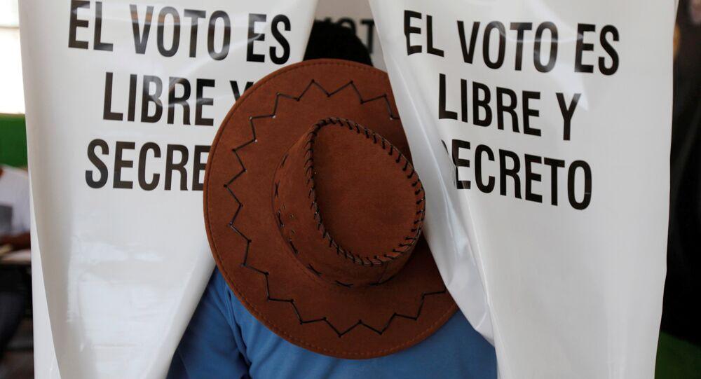 Las elecciones en México (archivo)