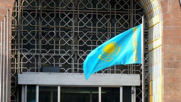 Bandera de Kazajistán - Sputnik Mundo