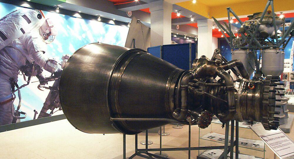 Motor de cohete RD-180