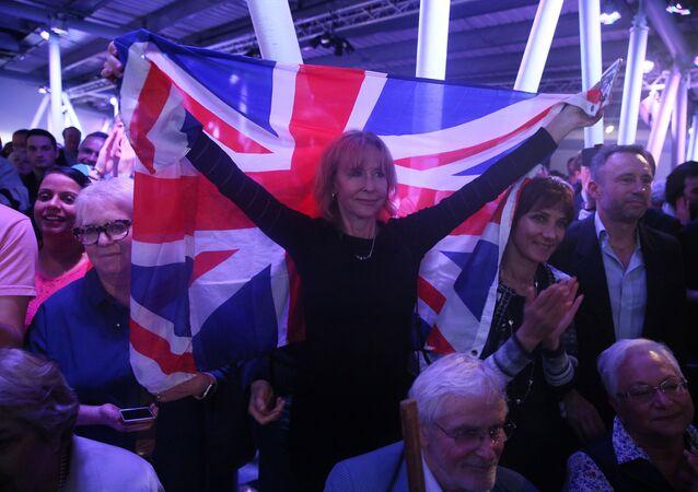 Partidarios del Brexit (archivo)