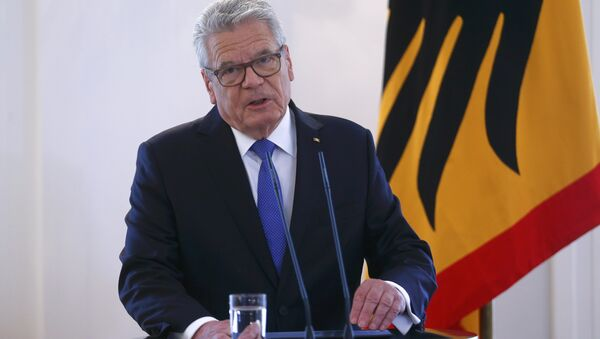 Joachim Gauck, presidente de Alemania - Sputnik Mundo