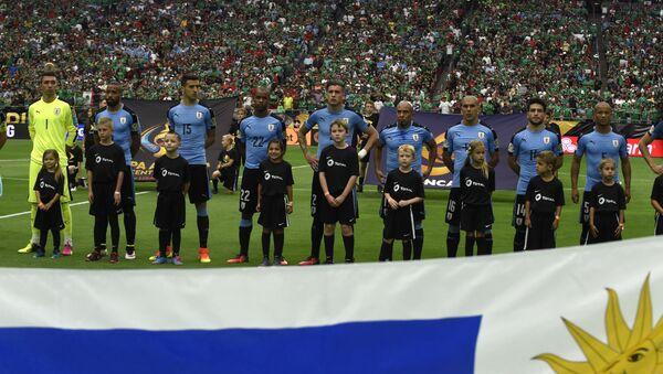 La selección de fútbol de Uruguay - Sputnik Mundo