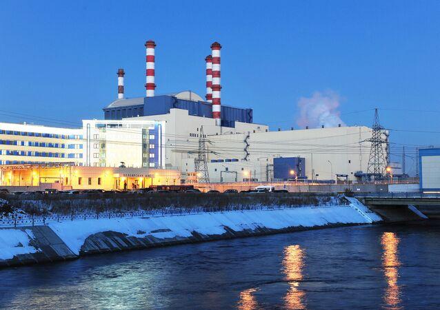 Una central nuclear rusa (archivo)