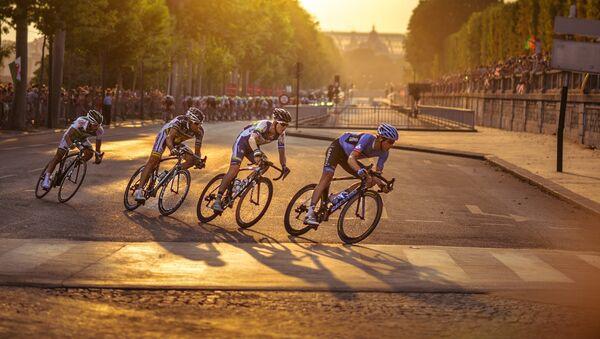 Ciclistas - Sputnik Mundo