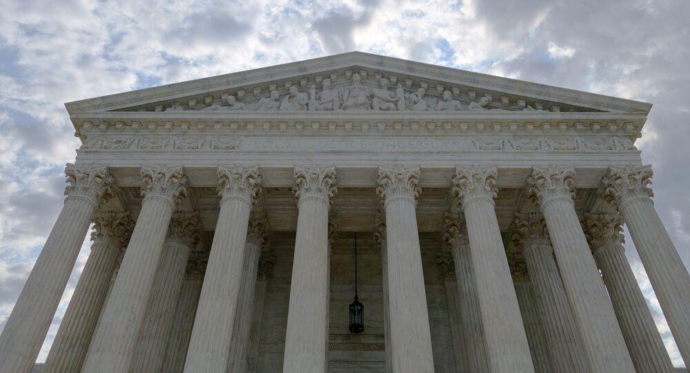 La Corte Suprema de EEUU en Washington