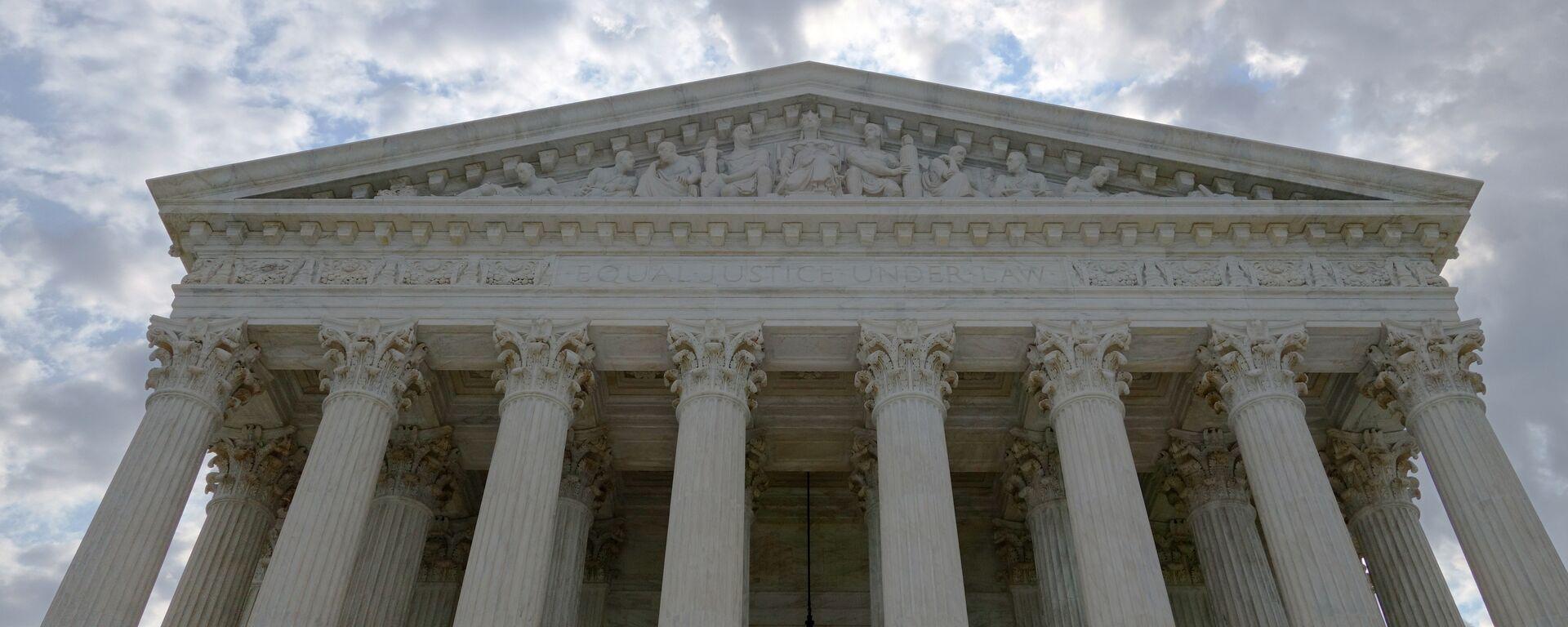 La Corte Suprema de EEUU en Washington - Sputnik Mundo, 1920, 26.04.2021