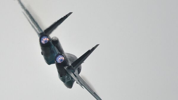 A Su-34 strike aircraft - Sputnik Mundo