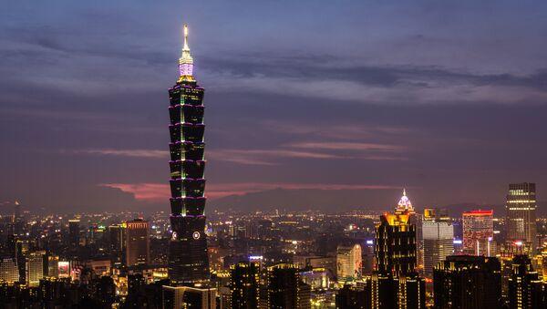 Taipei, la capital de Taiwán (archivo) - Sputnik Mundo