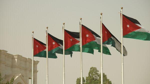 Bandera de Jordania - Sputnik Mundo