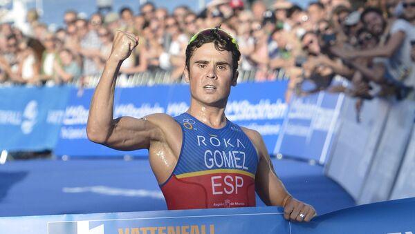 Francisco Javier Gómez Noya, triatleta español (archivo) - Sputnik Mundo