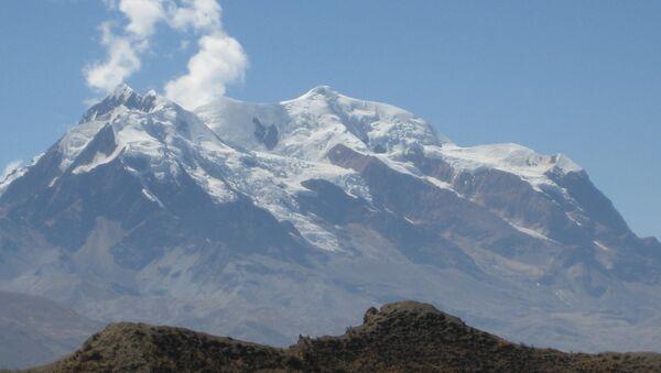 La montaña Illimani - Sputnik Mundo