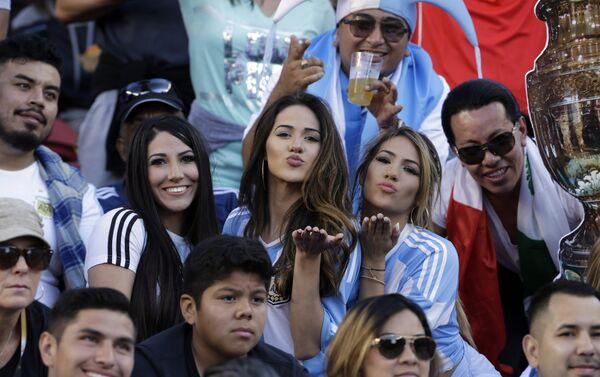 Aficionadas argentinas - Sputnik Mundo