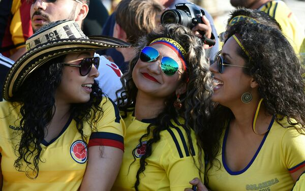 Aficionadas colombianas - Sputnik Mundo