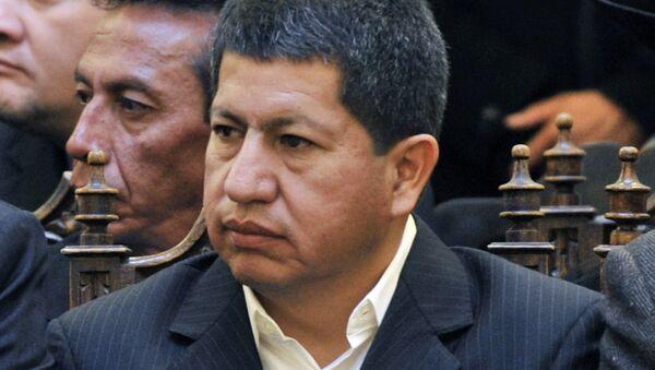 Luis Sanchez, ministro de Hidrocarburos y Energía de Bolivia - Sputnik Mundo