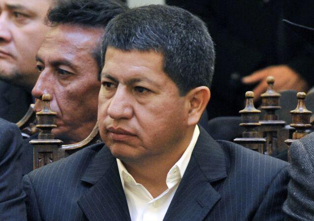 Luis Sanchez, ministro de Hidrocarburos y Energía de Bolivia