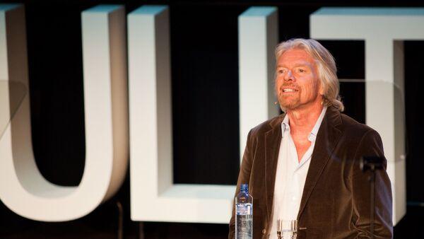 Sir Richard Branson, fundador de Grupo Virgin - Sputnik Mundo