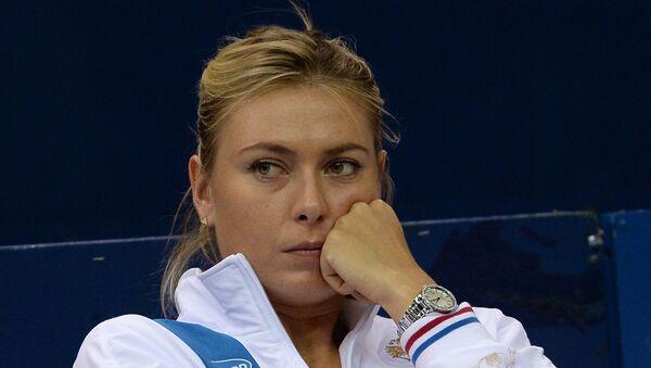 María Sharápova, famosa tenista rusa - Sputnik Mundo