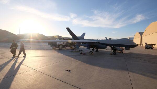 Un dron estadounidense en Afganistán - Sputnik Mundo